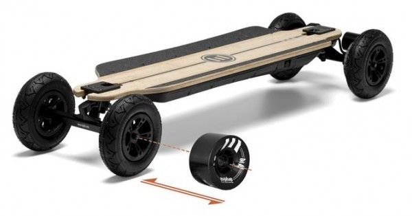 Evolve Bamboo GTR All Terrain und Street Set 2 in 1