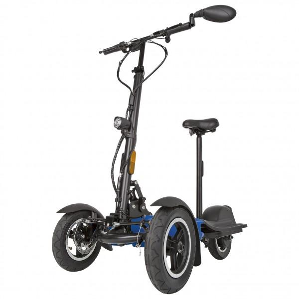 Scuddy Slim V3 faltbarer Escooter - Dreirad mit 20km/h helmfrei mit Straßenzulassung