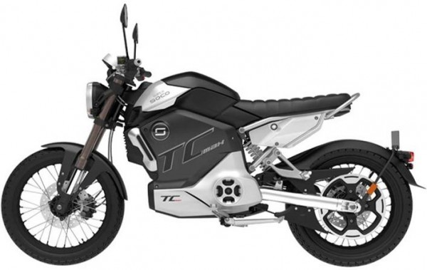 Super Soco TC Max - 95km/h - elektro Motorrad - bis zu 110km Reichweite