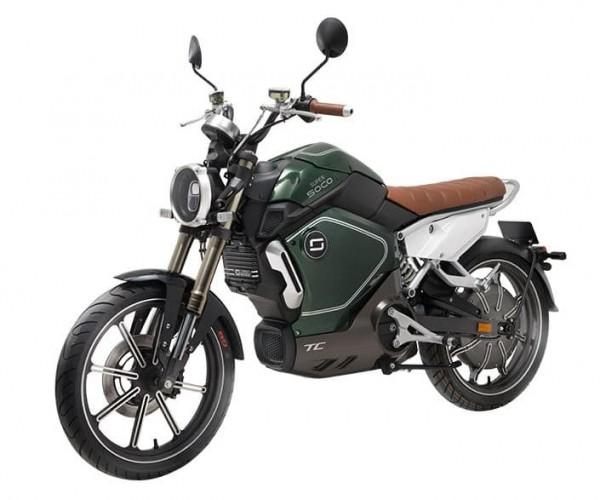 Super SOCO TC Eco - 45km/h - E-Roller mit Bosch Motor