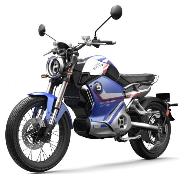 LIMITIERT* Super Soco TC Pro - 90km/h - elektro Motorrad - bis zu 110km Reichweite