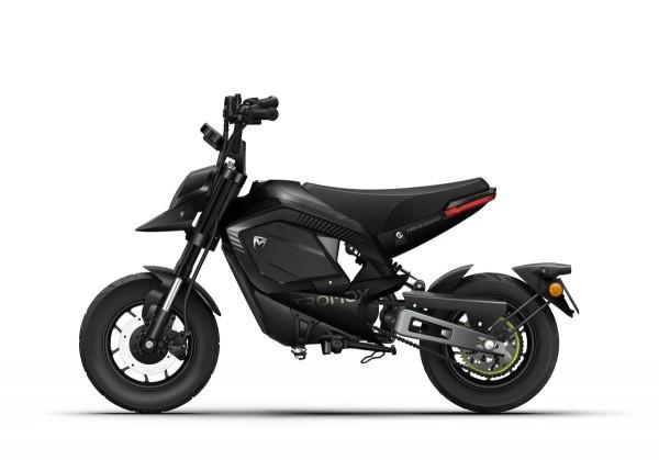 Tromox Mino Premium - 31AH - das kleine E-Motorrad mit 2,5kW Mittelmotor