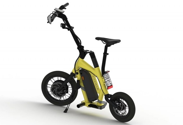 Steereon S25 - 20km/h - mit Sitz - helmfrei - Hybrid E-Scooter - Made in Germany