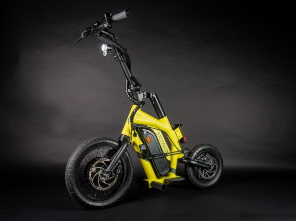 Steereon S20 - eKFV Version - helmfrei - Hybrid E-Scooter - Made in Germany