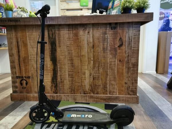 Emicro Condor X3 - Ausstellungsfahrzeug- Escooter mit Rekuperation und Hybridmodus, nur 10,8kg schw