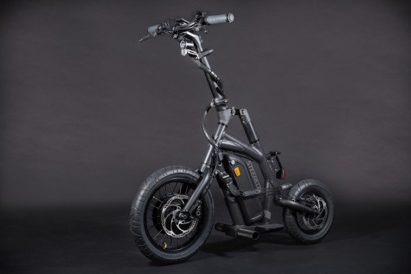 Steereon S25 - 25km/h - mit Sitz - Hybrid E-Scooter - Made in Germany