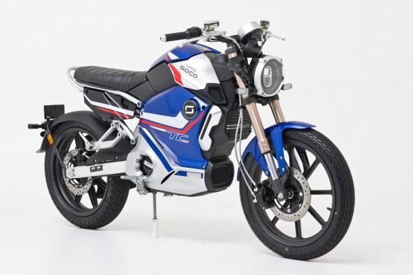 SONDERAKTION! Super Soco TC Pro - 90km/h - elektro Motorrad - bis zu 110km Reichweite
