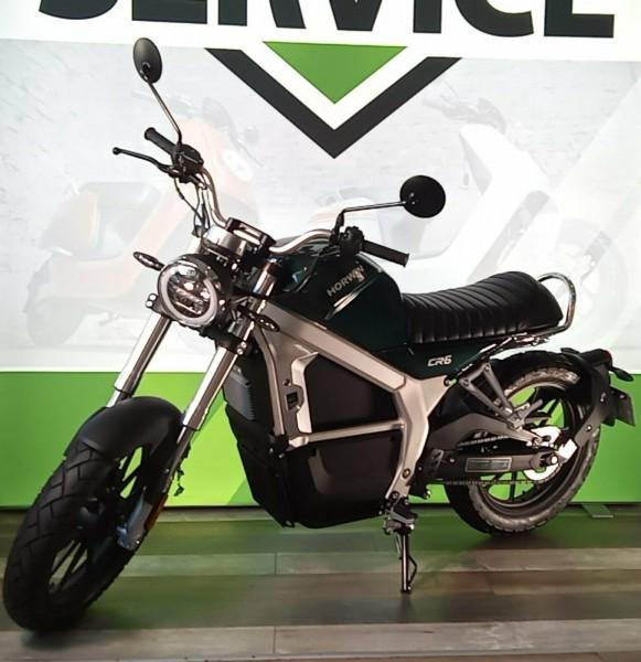 Horwin CR6 9 - Vorführfahrzeug - 95km/h - elektro Motorrad - 6,2 kW Motorleistung